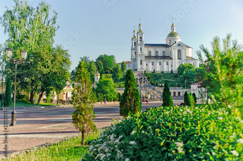 Holy Assumption Cathedral on the Assumption Hill in Vitebsk, Belarus - 225203506