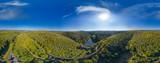 Luftbild Eiswoog im Pfälzer Wald 360°