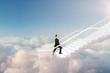 Leinwandbild Motiv Career development and success concept