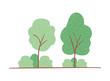 trees plants landscape scene