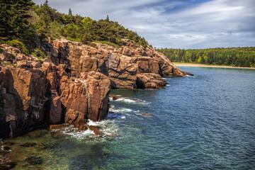 Near Thunder Hole in Acadia National Park © Andrew S.