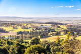 The rolling hills and fertile valleys of the Dargle, KZN, South Africa.