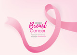 Breast cancer awareness campaign background - 225306346