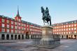 Leinwandbild Motiv Madrid Plaza Mayor