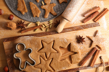 christmas gingerbread biscuit