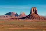 Monument valley at sunrise in Arizona - Utah.