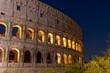 Quadro Colosseum at night