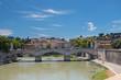 Quadro  Old bridge in Italy
