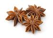Leinwandbild Motiv Dry star anise fruits