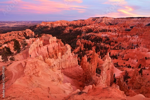 bryce canyon national park in utah usa