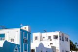 Buildings against clear sky, Santorini, Greece - 225438724