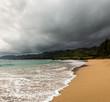 Overcast over O'ahy coasline