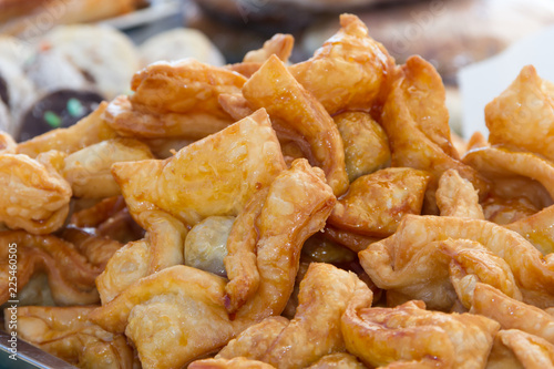 fried pastries stuffed with sweet potato or quince typical of the Argentine gastronomy