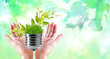 recycling technologies. pure nature.green living clean energy