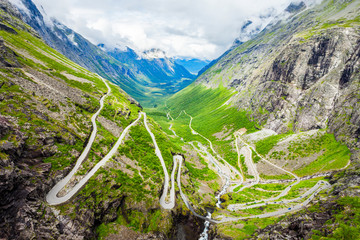 Trollstigen Trolls Path, Norway