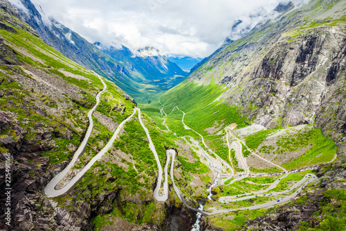 Trollstigen Trolls Path, Norway