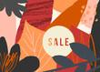 Abstract Autumn Sale Design - 225497115