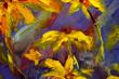Original oil painting of flowers,beautiful field wild flowers of camomile on canvas. Modern Impressionism.Impasto artwork. - 225501195