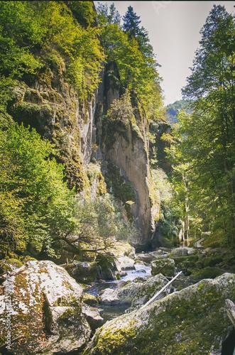 Foto Murales Mountain River in the Rocks