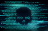 Ransomware And Code Hacking Background - 225524108