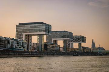 Koln Cologne city Skyline Germany © Fokke