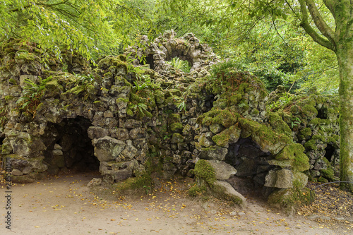 Caves in the Park - Stourhead Park - a natural environment