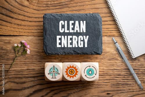 Leinwandbild Motiv Clean Energy