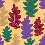 Decor Leaves pattern - 225563762