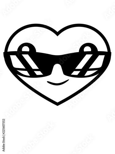 Fototapeta Sonnenbrille Cool Herz Gesicht Suss Niedlich Kopf Form Liebe Verliebt Paar Parchen Freund Freundin Mann Frau Heiraten Hochzeit Geschenk
