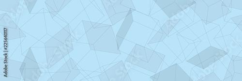 3D geometric background. Seamless pattern. Vector.3D幾何学パターン - 225640117