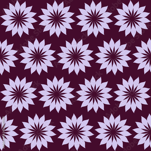 Abstract seamless violet color pattern for design of fabric, wallpaper, - 225645549