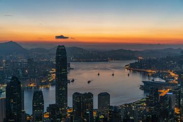 Hong Kong Twilight  © Naphat