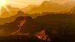 Leinwandbild Motiv Sonnenuntergang Grand Canyon USA
