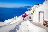 Santorini - Oia white village in Greece - 225657335