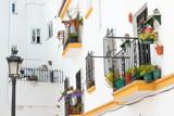 street in  old town Marbella spain