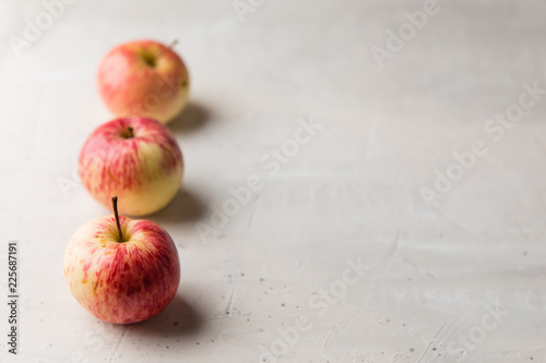 Apple on the white background. - 225687191