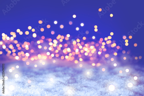 Sparkling Christmas Bokeh Background