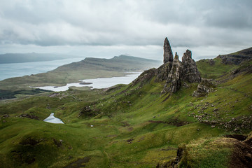 Isle of Skye - Old man of Storr © Katja