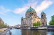 Leinwanddruck Bild - Berlin Cathedral in Berlin, Germany