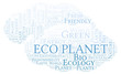 Eco Planet word cloud.