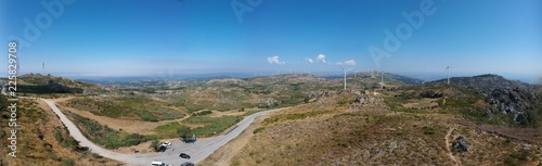 The view from Caramulinho - Caramulo, Portugal 2018  - 225829708