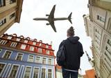 aircraft over Tallinn. - 225835930