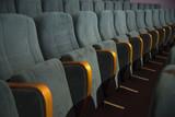 empty auditorium with seats - 225837146