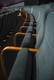 empty auditorium with seats - 225837324