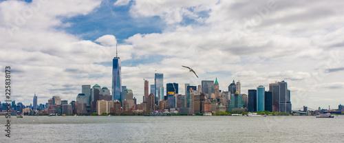 Manhattan skyline, New York, USA, circa May 2015 - 225838173