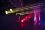 rays of light illuminate the scene - 225838351