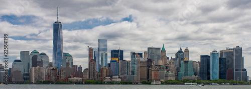 Manhattan skyline, New York, USA, circa May 2015 - 225841198