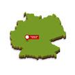 Deutschland 3D Städte | Frankfurt am Main