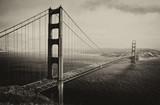 The Golden Gate Bridge as seen from Marine Headlands, San Francisco, California, USA © Travel Stock