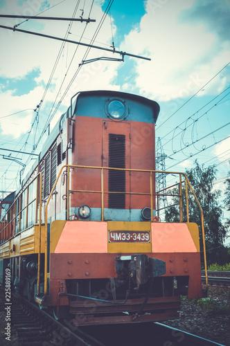 Fototapeta locomotive
